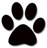 featherhawk holistic animal care - paw graphic